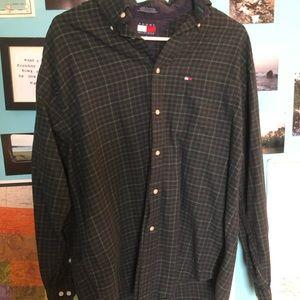 vintage TOMMY HILFIGER flannel/dress shirt